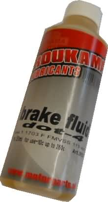 BRAKEFLUID DOT4 250ML
