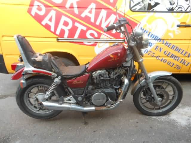 Honda Motorcycle Salvage Roukama Holland The One And Only