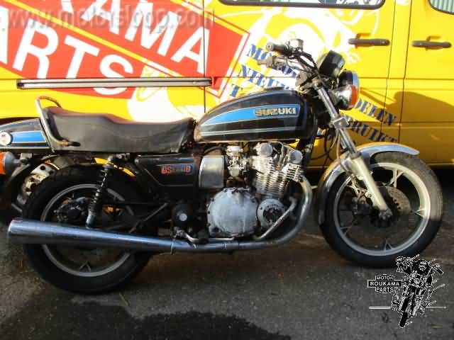 Suzuki : Motorcycle Salvage Roukama Holland, The one and