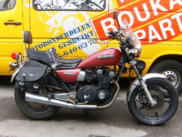 suzuki : motorcycle salvage roukama holland, the one and only