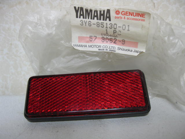 Yamaha Many Models REFLECTOR REAR RED